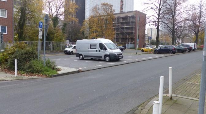 Wohnmobilstellplätze im Ruhrgebiet  – Essen