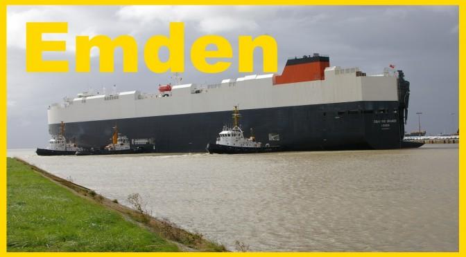 Der Wohnmobilstellplatz Emden