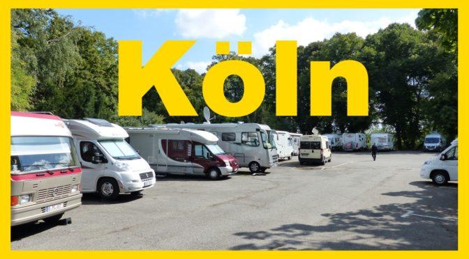 Wohnmobilstellplätze in Köln