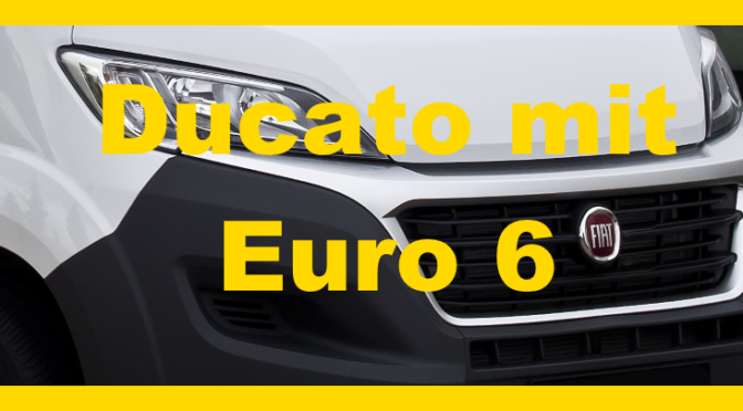 Fiat Ducato Euro 6
