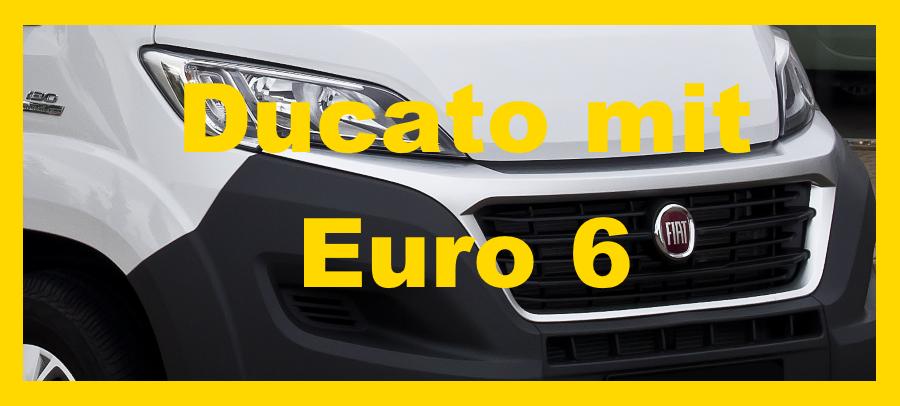 Fiat Ducato mit Euro 6